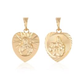 Przywieszka szkaplerz medalik - Xuping PRZ2683