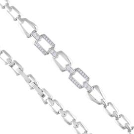 Bransoletka codzienna z kryształkami Xuping BP7478