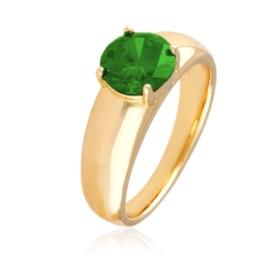 Pierścionek codzienny - zielony - Xuping PP2943
