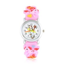 Zegarek dziecięcy unicorn - jasny róż - Z2006