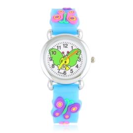 Zegarek dziecięcy motylek - niebieski - Z2009