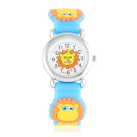 Zegarek dziecięcy z lwem - niebieski - Z2013