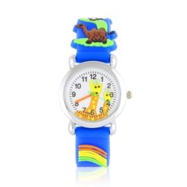 Zegarek dziecięcy animals - kobaltowy - Z2016