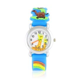 Zegarek dziecięcy animals - niebieski - Z2017