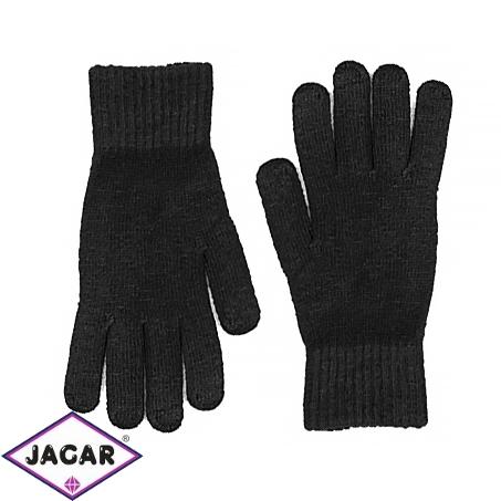 Rękawiczki klasyczne czarne 25cm RK559