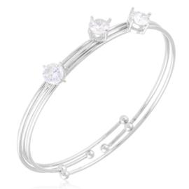 Bransoletka codzienna z kryształkami - BRA3156