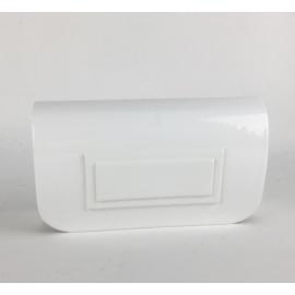 Torebka damska kopertówka wizytowa połysk TD524