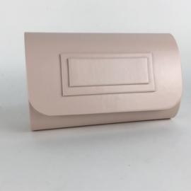 Torebka damska kopertówka wizytowa matowa TD528