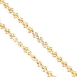 Bransoletka codzienna z kryształkami Xuping BP7610