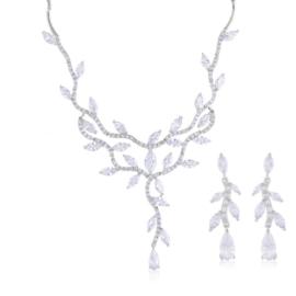 Komplet biżuterii ślubnej Xuping - SKO100