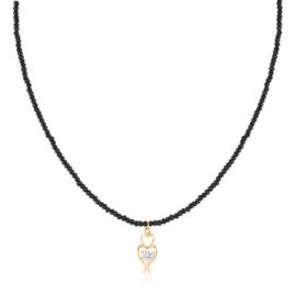 Naszyjnik z kryształków - Xuping CP4949