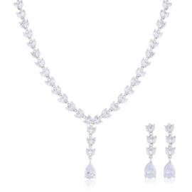 Komplet biżuterii ślubnej Xuping - SKO105