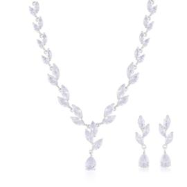 Komplet biżuterii ślubnej Xuping - SKO106