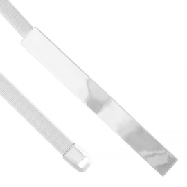 Pasek damski - sprężynka silver BL193