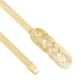 Pasek damski - sprężynka gold BL195