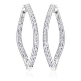 Kolczyki codzienne z kryształkami Xuping EAP15599