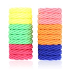 Gumki do włosów - mix kolorów 20szt - OG862