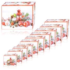Pudełka prezentowe świąteczne 10w1 OPA424