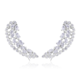 Nausznice z kryształkami Xuping EAP15614