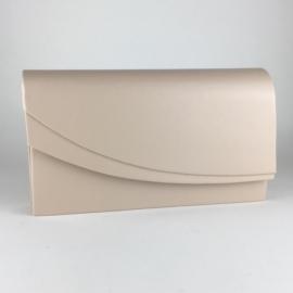 Torebka damska kopertówka wizytowa beż MAT TD567