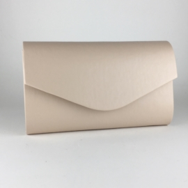 Torebka damska kopertówka wizytowa beż MAT TD568