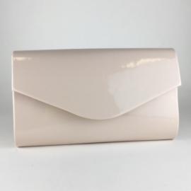 Torebka damska kopertówka wizytowa róż POŁ. TD569
