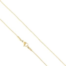 Łańcuszek stalowy 45cm Xuping LAP2216