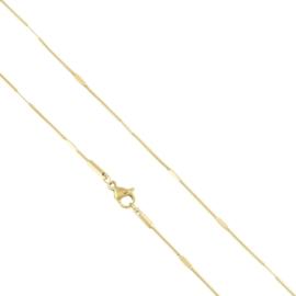 Łańcuszek stalowy 60cm Xuping LAP2218