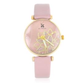 Zegarek damski na pasku - różowy Z2147