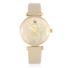 Zegarek damski na pasku - beżowy Z2148