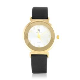 Zegarek damski na pasku - czarny Z2151