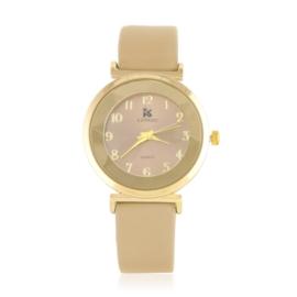 Zegarek damski na pasku - brązowy Z2152