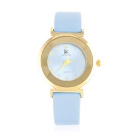 Zegarek damski na pasku - niebieski Z2154