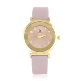 Zegarek damski na pasku - różowy Z2155