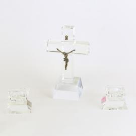 Komplet kolędowy - szklany - JC104