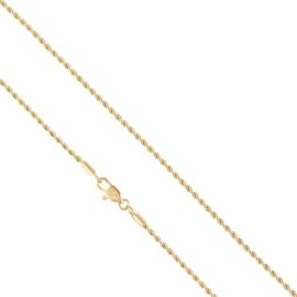 Łańcuszek kordel 50cm Xuping LAP2236