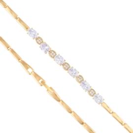Bransoletka z kryształkami - Xuping BP7795