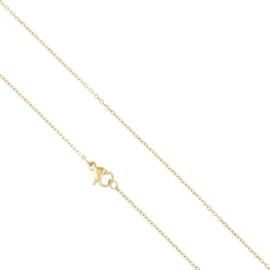 Łańcuszek stalowy 45cm Xuping LAP2257