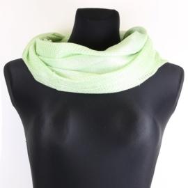 Komin damski - zielony - WO1169