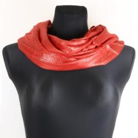 Komin damski - czerwony - WO1171