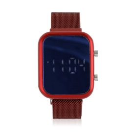 Zegarek LED na magnetycznym pasku 3,5x4 - Z2177
