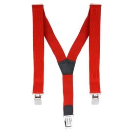 Szelki męskie regulowane - czerwone - SZE23