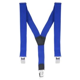 Szelki męskie regulowane - niebieskie - SZE25