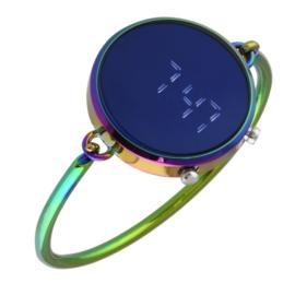 Zegarek LED sztywna bransoleta 3,5cm - Z2184