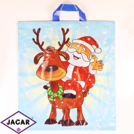 Reklamówki foliowe torby świąteczne 25szt RE02