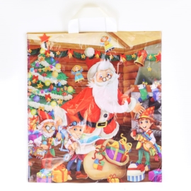 Reklamówki foliowe torby świąteczne 25szt RE03