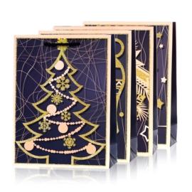 Torebki prezentowe świąteczne 40x30cm 12szt TP532