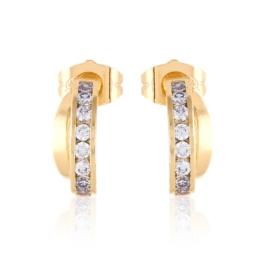 Kolczyki codzienne z kryształkami Xuping EAP15894