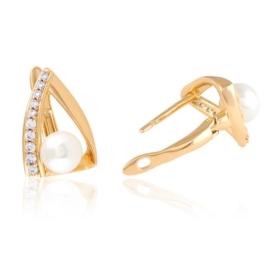 Kolczyki codzienne z perłkami Xuping EAP15898