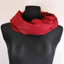 Komin damski - czerwony - WO1170